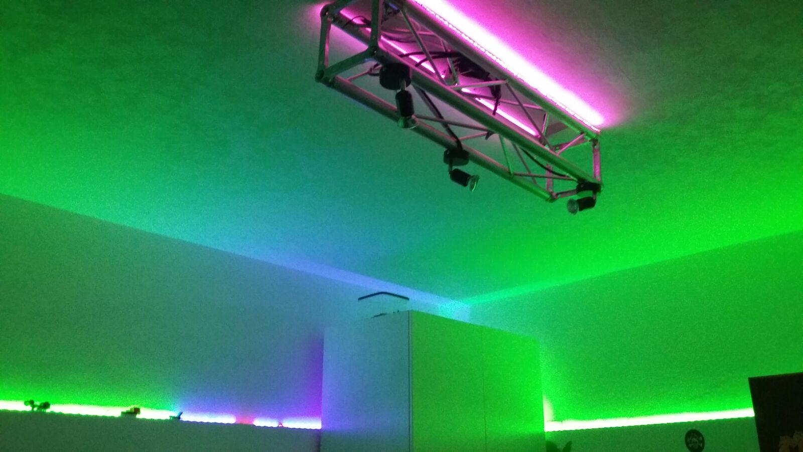 Installazione illuminazione LED
